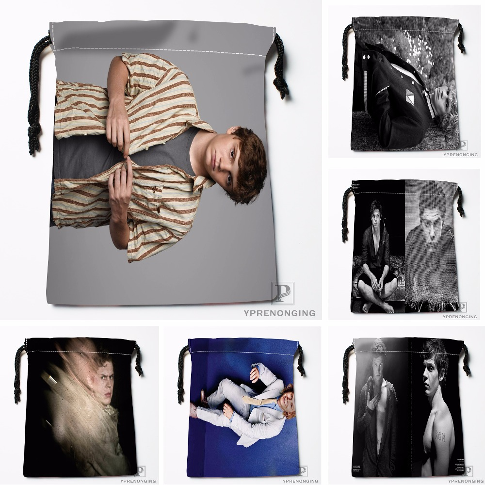 Custom American Horror Stories Drawstring Bags Printing Travel Storage Mini Pouch Swim Hiking Toy Bag Size 18x22cm#180412-11-67