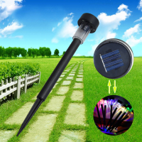 10X Solar LED Power Outdoor Path Light Spot Lamp Garden Lawn Landscape Light Energy Efficient