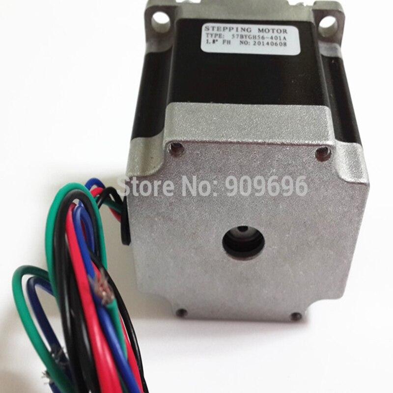 цена на New NEMA 23 56mm Stepper Motor Single Shaft 57BYGH56-401A free shipping