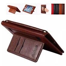 Купить с кэшбэком Luxury PU Leather Business Cover for Ipad Air 2 Flip Stand Case Smart Handhold Case for Apple Ipad Air 2  Fundas W/ Logo Fundas