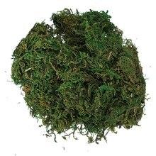 Verde Reindeer Moss Para O Forro Planta Flor Artificial Decoração Guirlanda