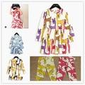 2017 SPRING SUMMER BABY GIRL CLOTHES DRESS FOR GIRLS dinasuar dresses VETEMENT ENFANT brand kdis clothes girls deer dresses bebe
