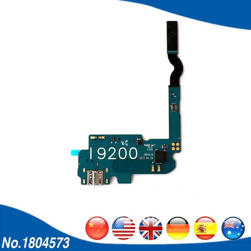 For Samsung Galaxy Mega 6.3 I9200 GT-i9200 USB Charging Port Connector Flex Cable Dock Port Flex Cable