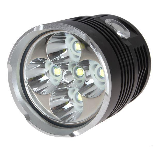 SKYRAY King 5 x XML T6 3-Mode 5000LM LED Hunting Flashlight Light Waterproof High Power Torch By 18650 Battery фонарик led flashlight skyray 5 x t6 xml 3 5000lm 18650 xml t6