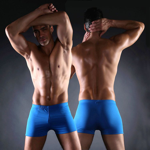 034f2df10d Hot Sales Most Welcomed Men Swimwear 2019 Classic Pattern Plus Size XXX men's  Swimsuits Big Large