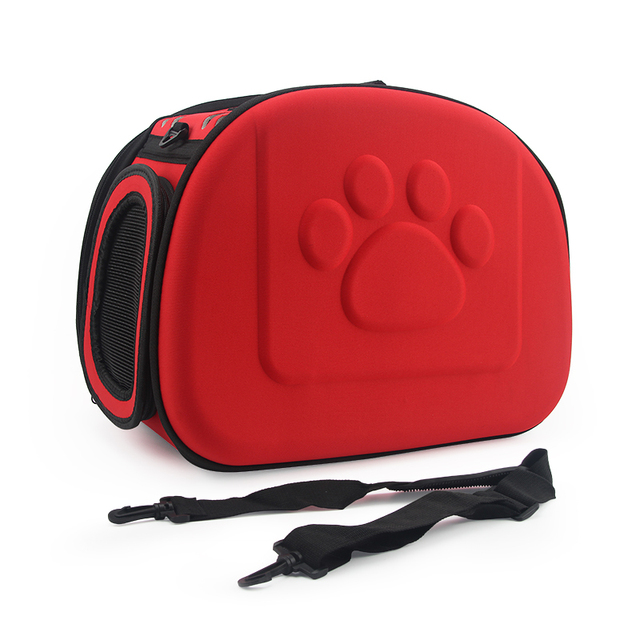 Dog Carrier Bag Portable Cats Handbag Foldable Travel Bag Puppy Carrying Mesh Shoulder Pet Bags S/M/L 2