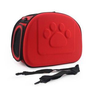 Image 3 - שקית כלב חתול נייד תיק מתקפל נסיעות לחיות מחמד תיק גור נשיאת רשת כתף כלב תיק S/M/L