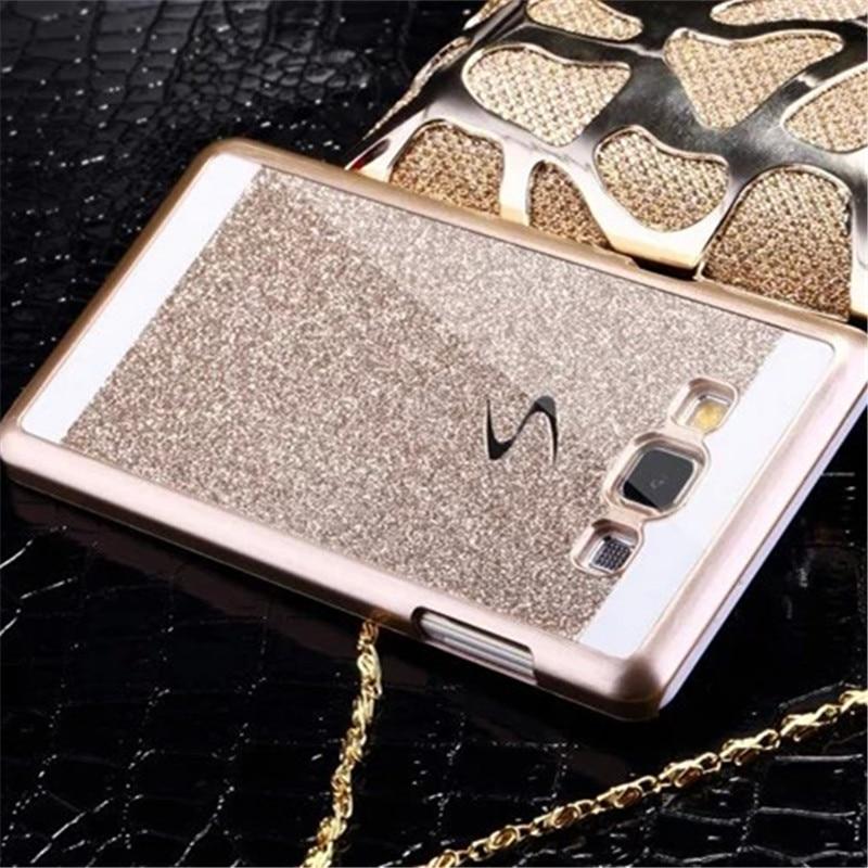 Bling Luxury Phone Case PC Hard For Samsung Galaxy J1 J1 Ace Mini J2 J3 Core 2 Core2 G355h ON5 ON7 2016 Back Cover