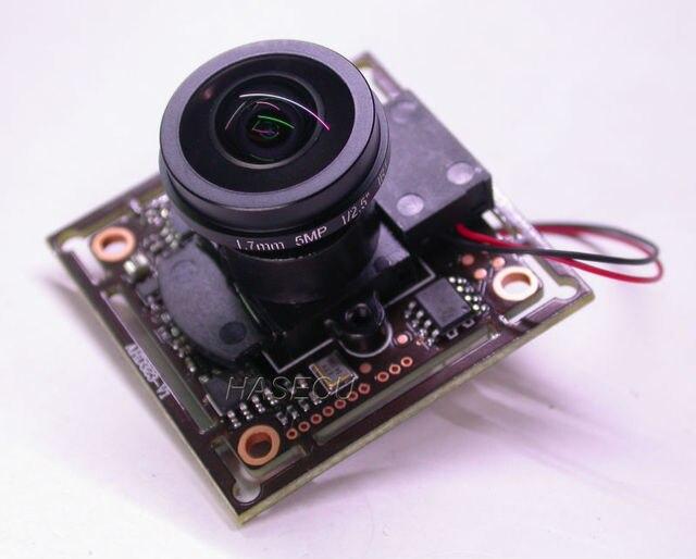 "FPV Super gran angular Ojo de Pez 1.7mm LEN 1/2. 9 ""sony exmor cmos imx323 + nvp2441 módulo de la cámara del tablero del cctv + osd cable + irc"