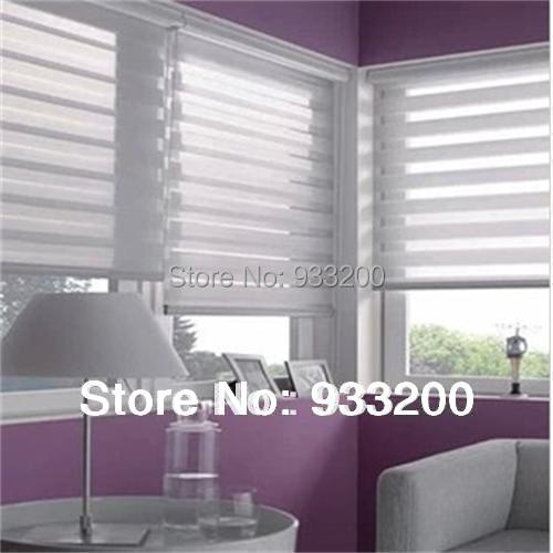 Aliexpresscom Buy Motorized zebra roller blinds light filter