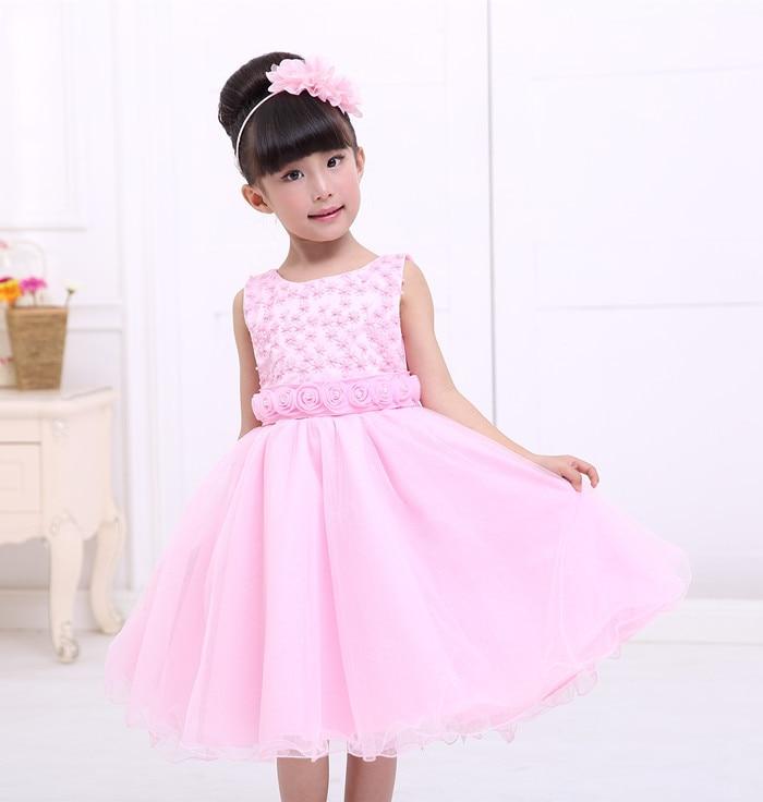 Fresh and simple princess dress, flower girl dress wedding ...
