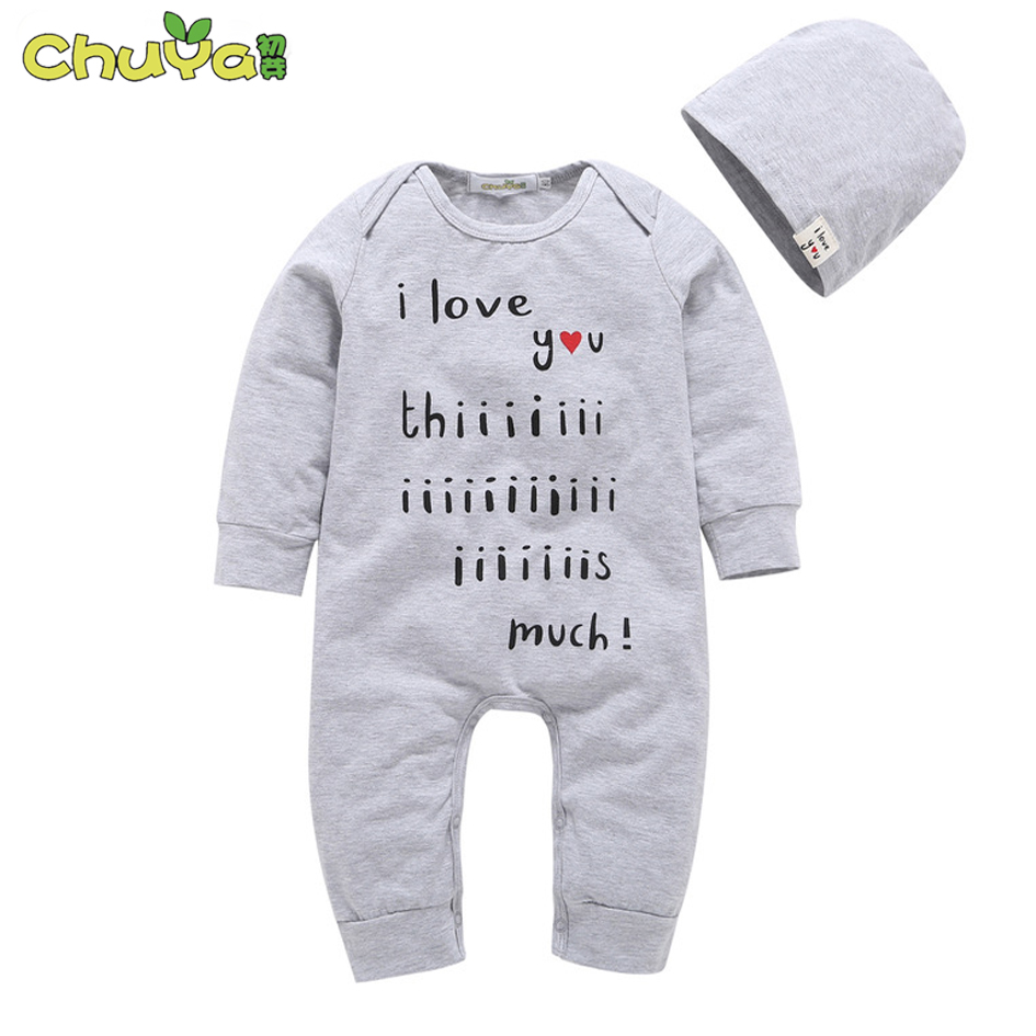 61cab693e9f9 2018 Spring autumn fashion twins baby clothes letter printing ...