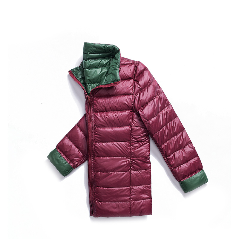 New Autumn Winter Double-Sided Wearing   Down     Coats   Women Ultra-Light Duck   Down   Short Jackets Windproof Outwears   Coat   Female Mw504
