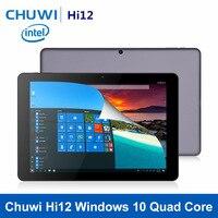 Оригинальный CHUWI Hi12 12 дюймов Windows 10 Tablet 4 ядра Trail X5 Z8350 4 ГБ Оперативная память 64 ГБ Встроенная память 11000 мАч HDMI Bluetooth 4,0 Tablet PC