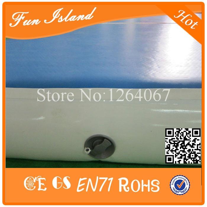 Gratis Pengiriman 0.9mm PVC 15x2 m Tiup Airtrack, Tiup gym Mat, Tiup - Hiburan dan olahraga luar ruangan - Foto 3
