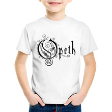 OPETH Heavy Metal Rock Band Children T-shirts