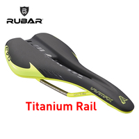 RUBAR EMIRATES PLUS 3255N Bicycle Saddle MTB Mountain Road Bike Hollow Design Titanium Saddle CR Mo Rail Triathlon Bike Saddle