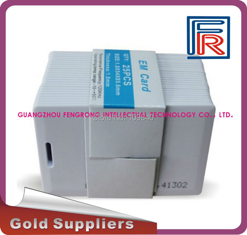 125 кГц RFID Раскладушка ID карты, EM4100 и comptiblle