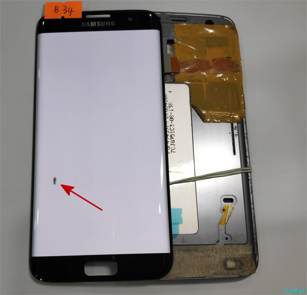 NO B34 for Samsung Galaxy S7 edge G935F G935A G935FD Defect lcd display with touch screen