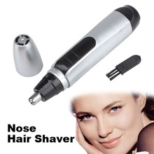 Nose Ear Face Hair Trimmer Shaver Clipper Cleaner Professional personal shaver Rotary blade Cordless  Hair Removal