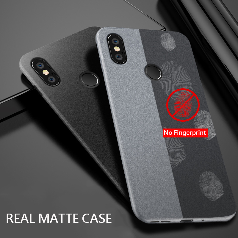 Image 3 - UPaitou Case for Xiaomi Redmi 7A Note 7 5 4 4X 5A Prime 6 K20 Pro 6A S2 GO Anti Fingerprint Case Soft Matte Ultra Thin TPU Cover-in Fitted Cases from Cellphones & Telecommunications