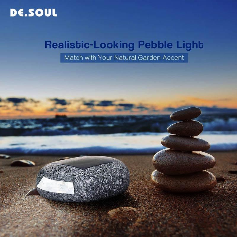DE. Alma Solar recargable noche lámpara solar luz PIR Sensor DE movimiento jardín decoración impermeable al aire libre