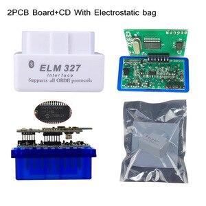 Image 3 - 최고의 품질 하드웨어 v1.5 pic18f25k80 칩 elm327 블루투스 1.5 작동 안드로이드 윈도우 진단 스캔 도구 elm 327 무료 배송