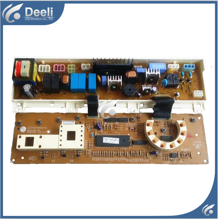 Free shipping 95% new original for Washing Machine drum computer board WD-N80060 6871EN1018D 6870EC9100A board original new for lg drum washing machine door hinge 42741701 1pcs