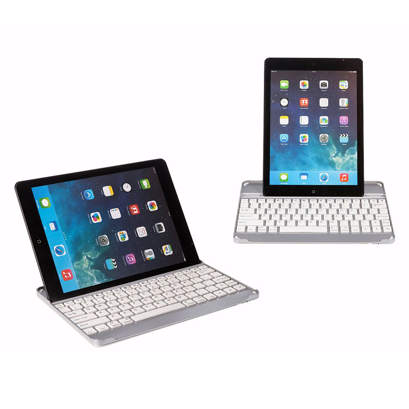 HOT Aluminum Alloy Bluetooth Keyboard Fashion Multi-function Keyboard For Laptop Computer BUS66
