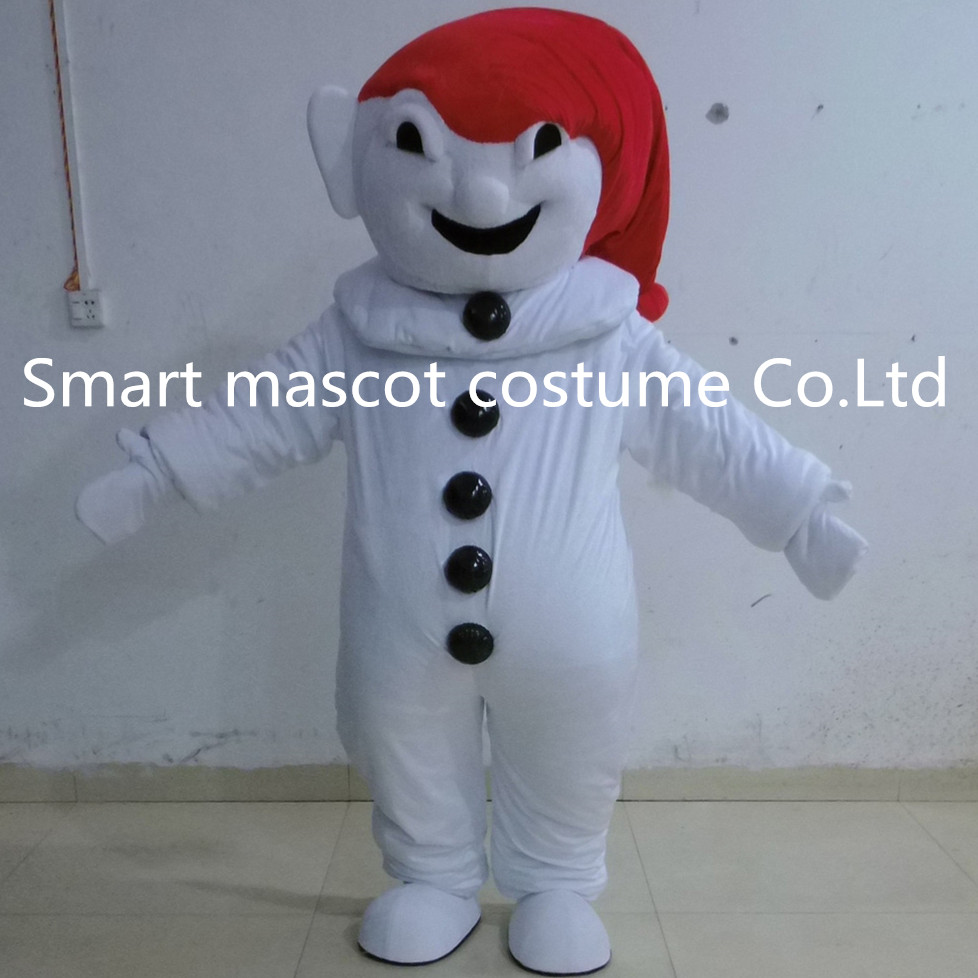in red hat ghost mascot costume space ghost halloween costume for adultchina - Space Ghost Halloween Costume