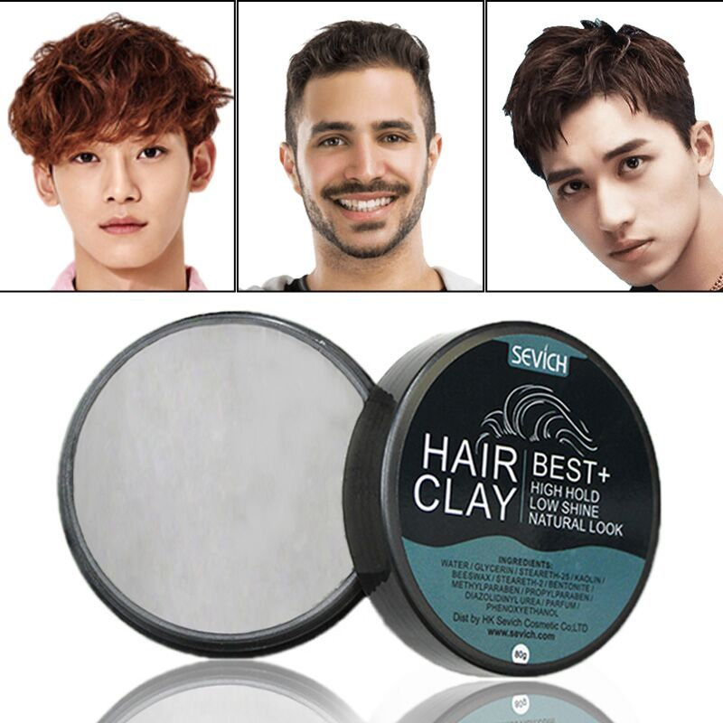 Matte Hair Wax Hair Mud Long-lasting Hair Styling Clay For men strong fixing hairstyle Matte Finished Molding Cream Sevich BrandMatte Hair Wax Hair Mud Long-lasting Hair Styling Clay For men strong fixing hairstyle Matte Finished Molding Cream Sevich Brand