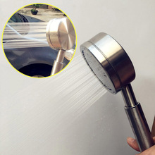 High Pressure Shower Head Rain Handheld 304 Stainless Steel Hand Hold Spray Showerheads Water Saving Bathroom Faucet