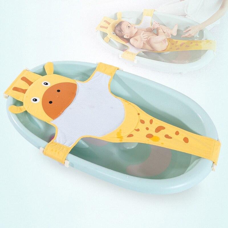 Portable Bathtub Infant Baby Bath Tub Baby Shower Seat Bath Mat ...