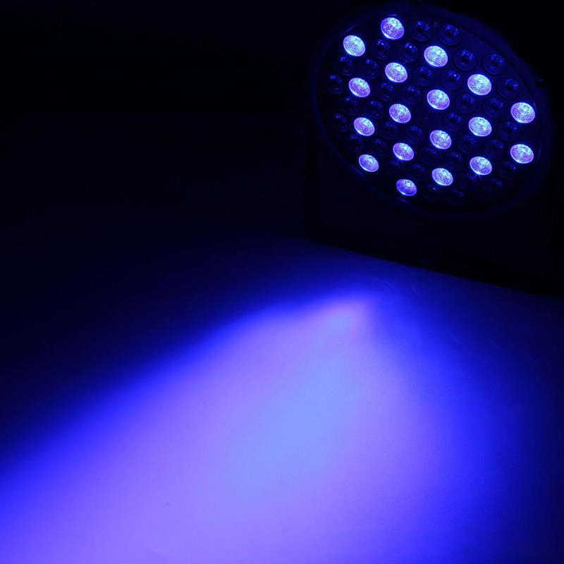 54 светодиодный S1W мини RGBW светодиодный Par лампа для Dj клуба Свадебные вечерние концерт бар сценический эффект освещения с DMX 8 Каналы ЕС США Plug
