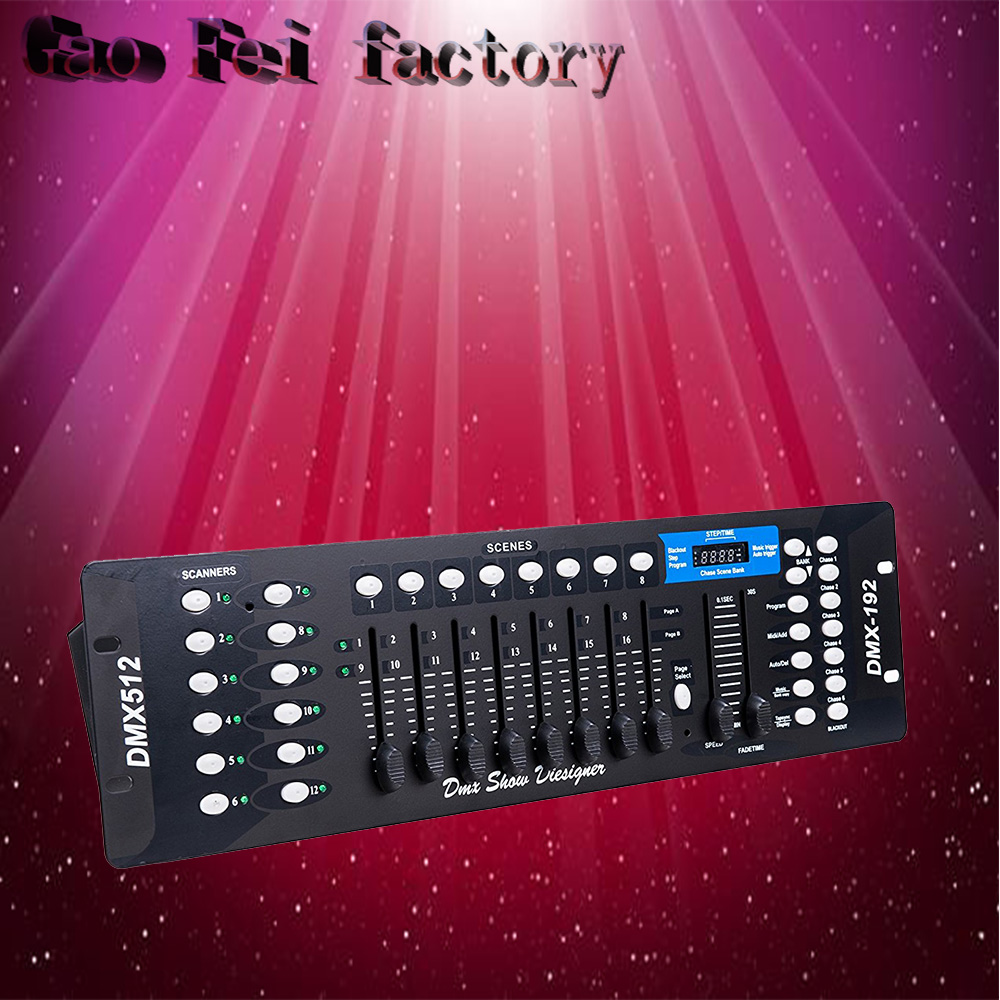 DMX 192 Controller 192 Console Stage Lighting DJ Equipment