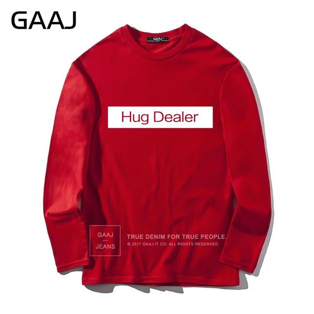 Mens Womens Unisex Long Sleeve Hugs Print Casual Sweatshirt Jumper T-Shirt Tops