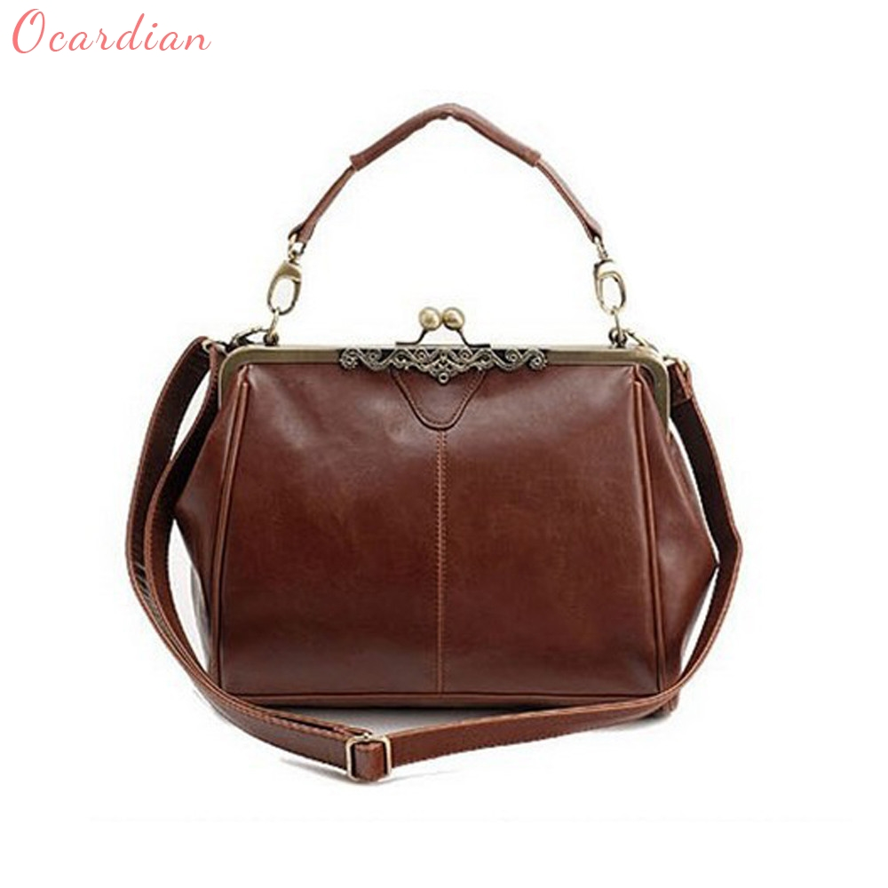 Ocardian High Quality Por New Women Retro Vintage Shoulder Handbag Tote Bag Purse Cross Body Dropship 487g 733g