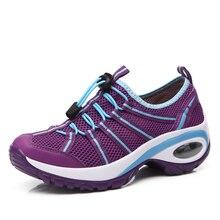 Höhe Zunehmende Sommer Schuhe frauen Casual Schuhe Sport Fashion Wanderschuhe für Frauen Schwingen Schuhe Atmungsaktive Schuhe Mujer