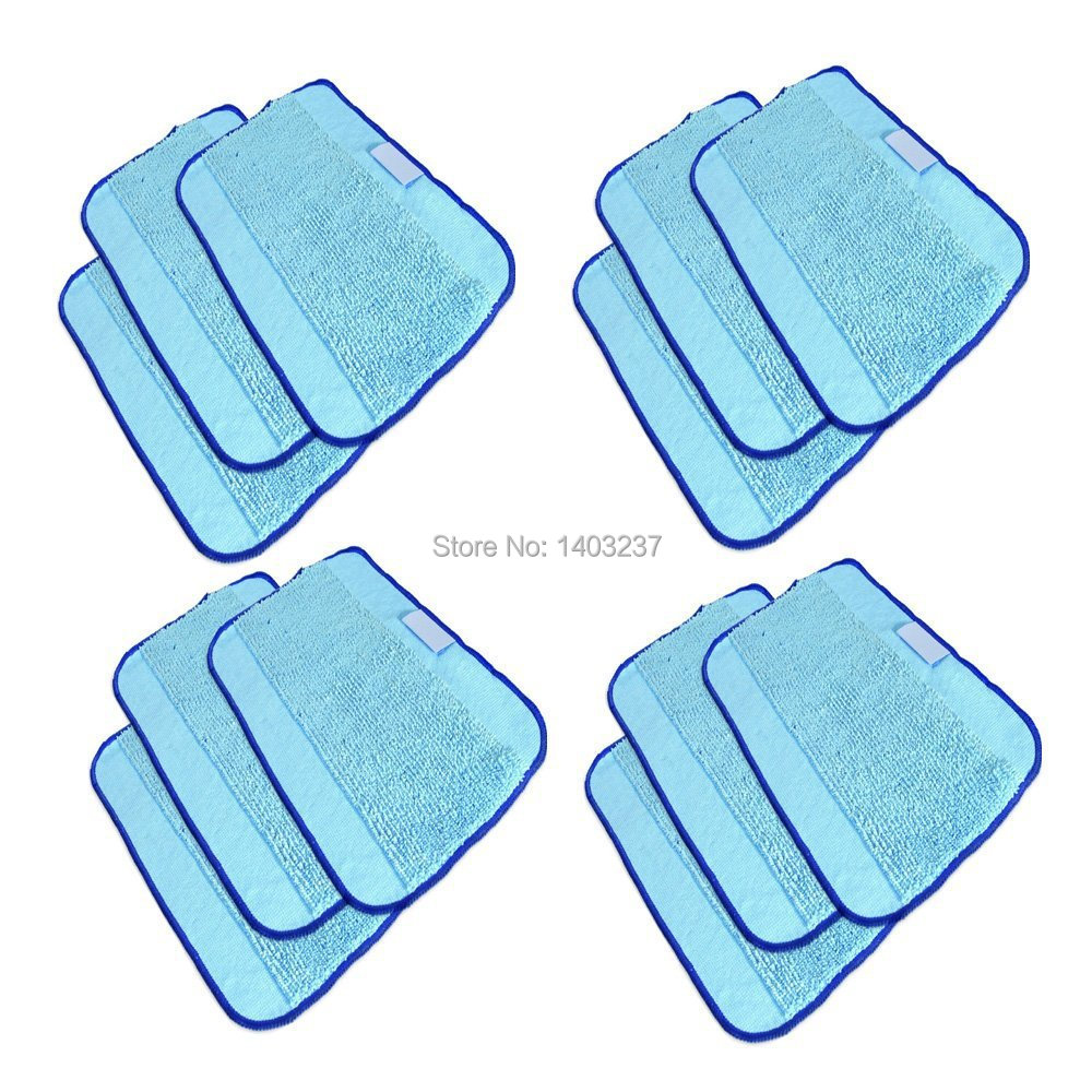 Microfiber 12-Pack, Pro-Clean Mopping Cloths for Braava Floor Mopping Robot 380 380T