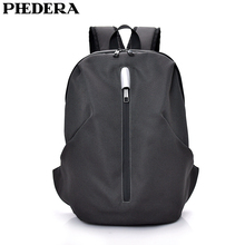 PHEDERA New Oxford Female Backpack with Reflective Stripe Fashion Couple Racksack Red Woman Men Black Back Pack цена