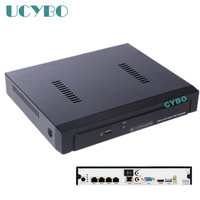 CCTV Real PoE NVR ONVIF 4CH Channel For 5MP 1080P PoE IP Camera Security Video