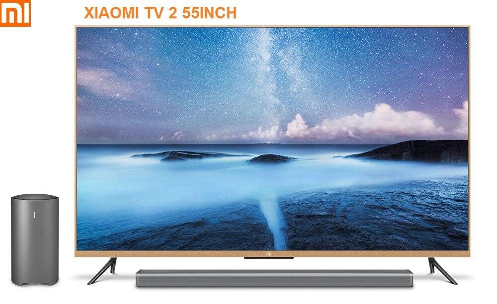 Original Xiaomi Televisao Smart Led Fernseher 2 2 S Televisores 55