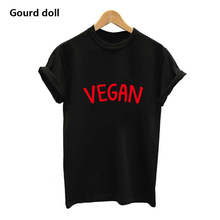 VEGAN logo women's shirt / girlie / 6 colors
