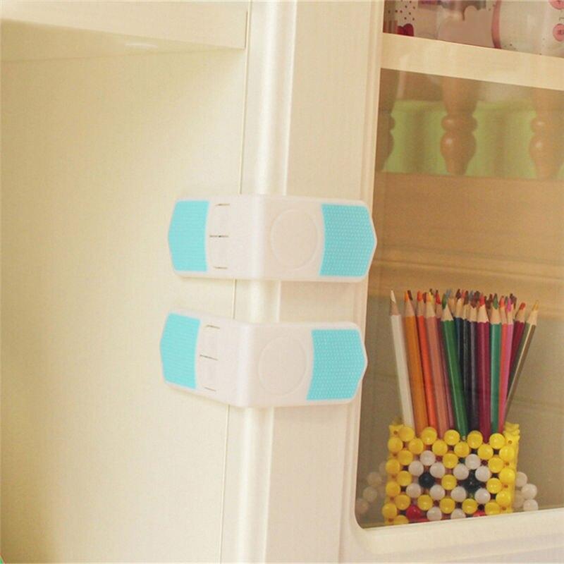 1 Pcs Baby Kinder Kunststoff Schublade Tür Schrank Schrank Wc Sicherheit Schlösser Straps Baby Kind Sicherheit Pflege Lock Kind Schutz QualitäT Zuerst