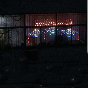 Image 5 - 3M RGB 3peacocks LED Outdoor Indoor LED Fairy String Curtain Light Xmas Party Wedding Celebration courtyard Decoration 110V 220V