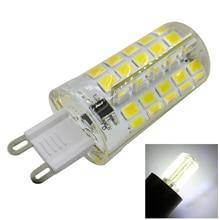 G9 Silicone LED Lamp Bulb Chandelier Corn Light 220V 200-240V AC 4W 80 SMD 5730 Epistar chip