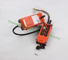 Dianqi Промышленные дистанционного Управления Подъемный Кран кнопочный переключатель с 8 кнопок 1 приемник + 1 передатчик для грузовик подъемный кран