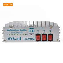 HYS 140-150MHz & 450-460MHz Dual Band Signal Booster Two Way Ham Handy Radio Walkie Talkie Power Amplifier TC-VU50