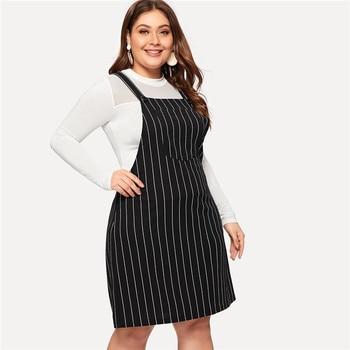 Plus size a-line mini dress