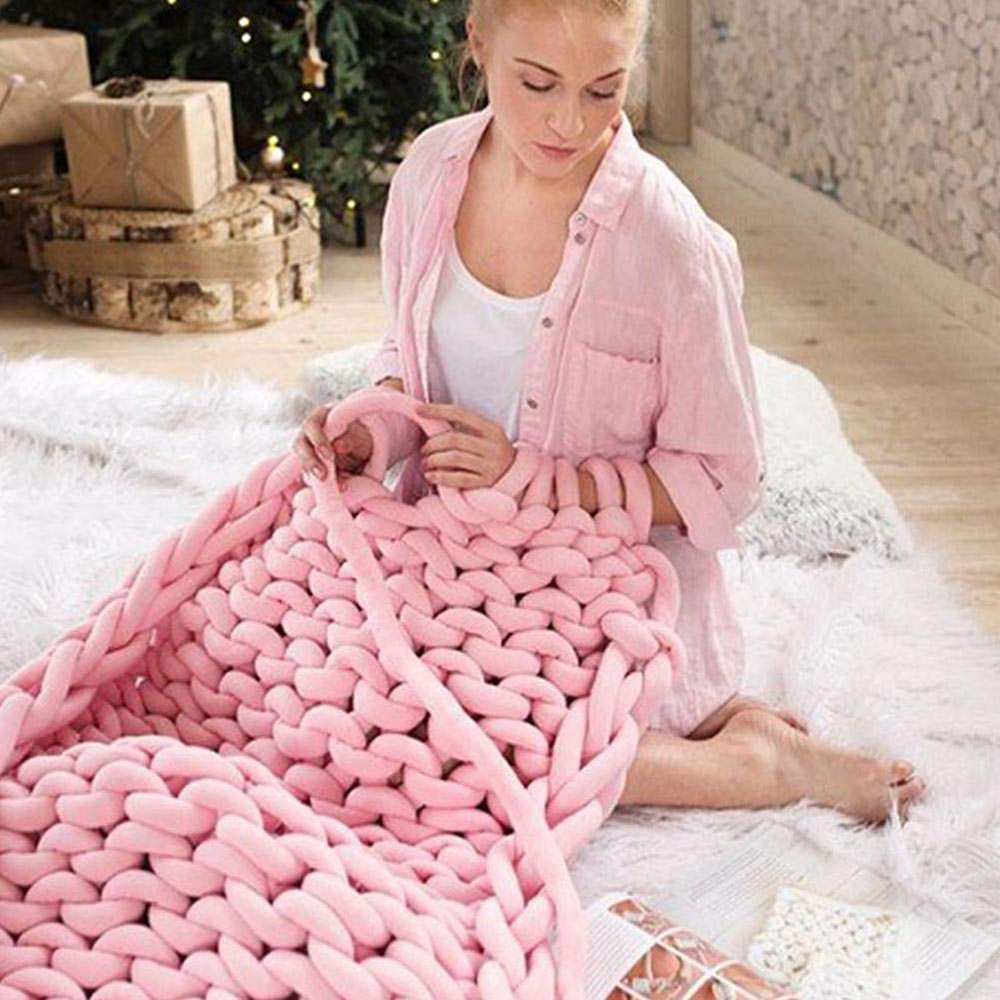 Coarse-Knitting-Fabric-Hand-Knitted-Wool-Core-For-Hand-Woven-Blanket-Crochet-Felting-Cushions-Super-Soft-Comfortable-Blankets-(27)